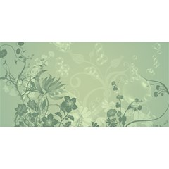 Wonderful Flowers In Soft Green Colors You Are Invited 3d Greeting Card (8x4)