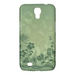 Wonderful Flowers In Soft Green Colors Samsung Galaxy Mega 6 3  I9200 Hardshell Case by FantasyWorld7