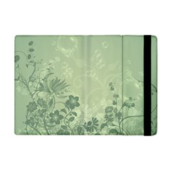 Wonderful Flowers In Soft Green Colors Ipad Mini 2 Flip Cases by FantasyWorld7