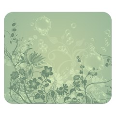 Wonderful Flowers In Soft Green Colors Double Sided Flano Blanket (small)  by FantasyWorld7