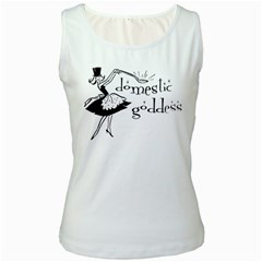 Domestic Goddess Women s Tank Tops