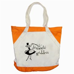 Domestic Goddess Accent Tote Bag