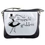 Domestic Goddess Messenger Bags