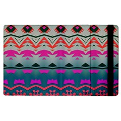 Waves and other shapes			Apple iPad 3/4 Flip Case by LalyLauraFLM