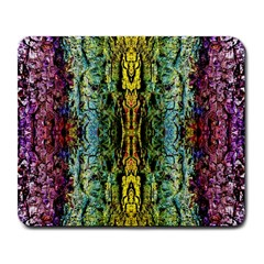 Abstract, Yellow Green, Purple, Tree Trunk Large Mousepads by Costasonlineshop