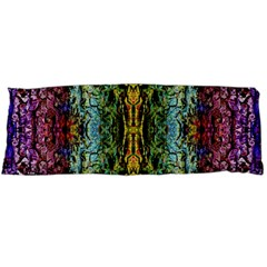 Abstract, Yellow Green, Purple, Tree Trunk Body Pillow Cases Dakimakura (two Sides)