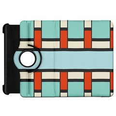 Vertical and horizontal rectanglesKindle Fire HD Flip 360 Case by LalyLauraFLM
