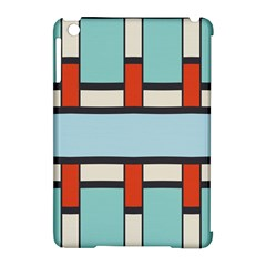 Vertical And Horizontal Rectanglesapple Ipad Mini Hardshell Case (compatible With Smart Cover) by LalyLauraFLM