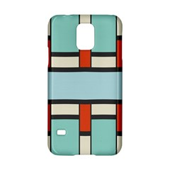 Vertical And Horizontal Rectangles			samsung Galaxy S5 Hardshell Case by LalyLauraFLM