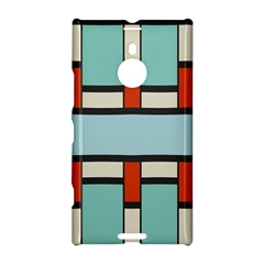 Vertical And Horizontal Rectangles			nokia Lumia 1520 Hardshell Case by LalyLauraFLM