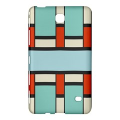 Vertical and horizontal rectangles			Samsung Galaxy Tab 4 (8 ) Hardshell Case by LalyLauraFLM
