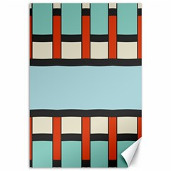 Vertical And Horizontal Rectangles			canvas 12  X 18  by LalyLauraFLM