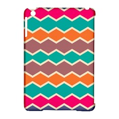Colorful Chevrons Pattern			apple Ipad Mini Hardshell Case (compatible With Smart Cover) by LalyLauraFLM