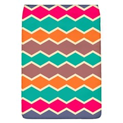 Colorful Chevrons Pattern			removable Flap Cover (l) by LalyLauraFLM