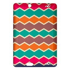 Colorful chevrons patternKindle Fire HD (2013) Hardshell Case by LalyLauraFLM