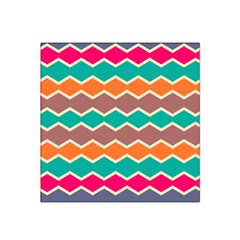 Colorful Chevrons Pattern Satin Bandana Scarf by LalyLauraFLM