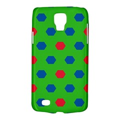 Honeycombs Patternsamsung Galaxy S4 Active (i9295) Hardshell Case by LalyLauraFLM
