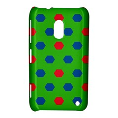 Honeycombs Pattern			nokia Lumia 620 Hardshell Case by LalyLauraFLM