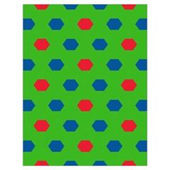 Honeycombs Pattern Large Drawstring Bag by LalyLauraFLM