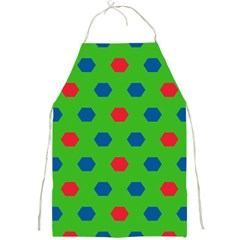 Honeycombs Pattern			full Print Apron by LalyLauraFLM