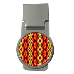 Melons Pattern Abstract Money Clips (round)  by Costasonlineshop