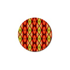 Melons Pattern Abstract Golf Ball Marker (10 Pack)