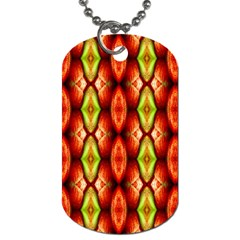 Melons Pattern Abstract Dog Tag (two Sides)
