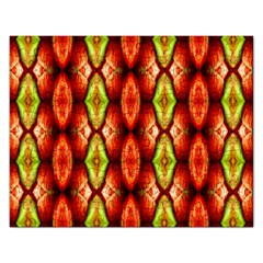 Melons Pattern Abstract Rectangular Jigsaw Puzzl by Costasonlineshop