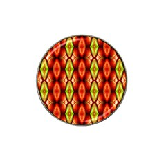 Melons Pattern Abstract Hat Clip Ball Marker by Costasonlineshop