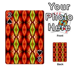 Melons Pattern Abstract Playing Cards 54 Designs  by Costasonlineshop