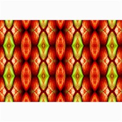 Melons Pattern Abstract Collage 12  X 18  by Costasonlineshop