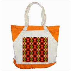 Melons Pattern Abstract Accent Tote Bag  by Costasonlineshop
