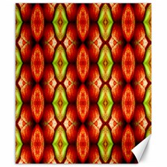 Melons Pattern Abstract Canvas 20  X 24