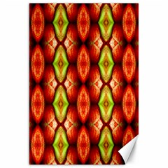 Melons Pattern Abstract Canvas 20  x 30   by Costasonlineshop
