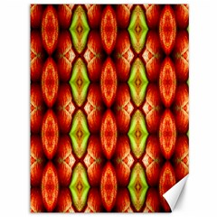 Melons Pattern Abstract Canvas 36  X 48   by Costasonlineshop