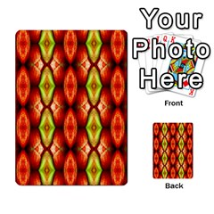 Melons Pattern Abstract Multi Purpose Cards (rectangle)  by Costasonlineshop