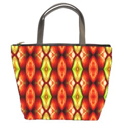 Melons Pattern Abstract Bucket Bags