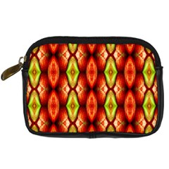 Melons Pattern Abstract Digital Camera Cases by Costasonlineshop