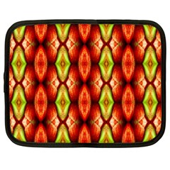 Melons Pattern Abstract Netbook Case (xl)  by Costasonlineshop