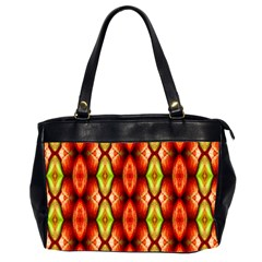 Melons Pattern Abstract Office Handbags (2 Sides)  by Costasonlineshop
