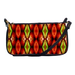 Melons Pattern Abstract Shoulder Clutch Bags by Costasonlineshop