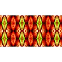 Melons Pattern Abstract You Are Invited 3d Greeting Card (8x4)  by Costasonlineshop