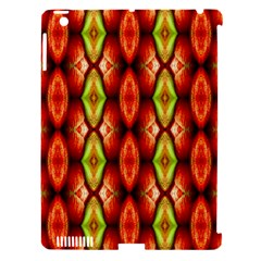 Melons Pattern Abstract Apple Ipad 3/4 Hardshell Case (compatible With Smart Cover)