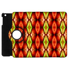 Melons Pattern Abstract Apple Ipad Mini Flip 360 Case