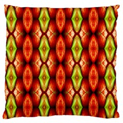 Melons Pattern Abstract Large Flano Cushion Cases (one Side)  by Costasonlineshop
