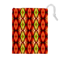 Melons Pattern Abstract Drawstring Pouches (extra Large) by Costasonlineshop