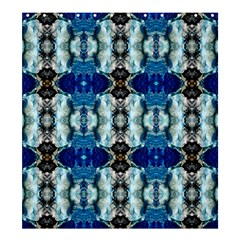 Royal Blue Abstract Pattern Shower Curtain 66  X 72  (large)  by Costasonlineshop