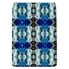Royal Blue Abstract Pattern Flap Covers (s)