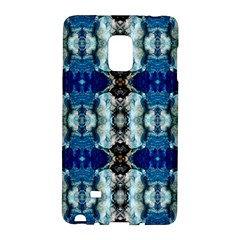 Royal Blue Abstract Pattern Galaxy Note Edge by Costasonlineshop