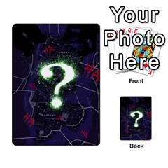 Batman Strategy Cards By Juan Diego   Multi Purpose Cards (rectangle)   N1oz9y9wrjw1   Www Artscow Com Frontback